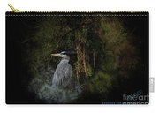 Great Blue Heron On The River Carry-all Pouch
