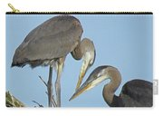 Great Blue Heron Pair Carry-all Pouch