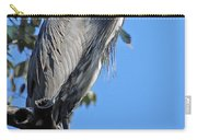 Great Blue Heron Perched Carry-all Pouch