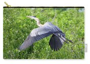Great Blue Heron Takeoff Carry-all Pouch