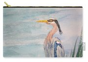 Great Blue Heron Two Carry-all Pouch
