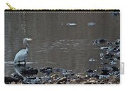 Great Blue Heron Wading 1 Carry-all Pouch