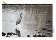 Great Blue Heron Wading 2 Carry-all Pouch
