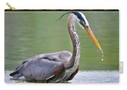 Great Blue Heron Wading Carry-all Pouch