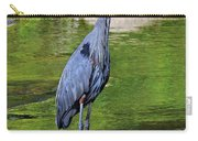 Great Blue Wading The Tuck Carry-all Pouch