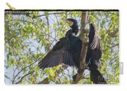Great Cormorant - High In The Tree Carry-all Pouch