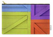 Great Crates - Multicolored Packing Boxes Stacked Carry-all Pouch