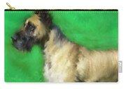 Great Dane Portrait  Carry-all Pouch