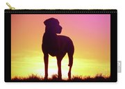 Great Dane Silhouette Carry-all Pouch