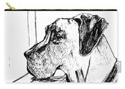 Great Dane Waiting Carry-all Pouch