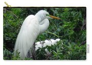 Great Egret 17 Carry-all Pouch