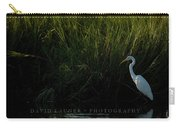 Great Egret At Ft George Inlet  Carry-all Pouch
