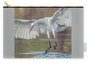 Great Egret Chase 072316-9861-2cr Carry-all Pouch