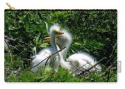 Great Egret Chicks 1 Carry-all Pouch