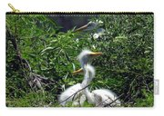 Great Egret Chicks 2 Carry-all Pouch