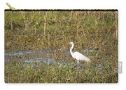 Great Egret Fishing Carry-all Pouch