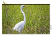 Great Egret In The Spring  Carry-all Pouch