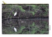 Great Egret Resting Carry-all Pouch