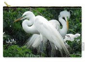 Great Egrets 10 Carry-all Pouch