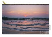 Great Fountain Geyser Sunset Reflections Carry-all Pouch