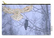 Great Gray Owl Together Carry-all Pouch