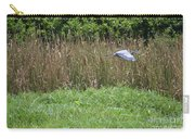 Great Heron In Flight 2 Carry-all Pouch