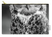 Great Horned Owl Bw IIi Carry-all Pouch