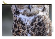 Great Horned Owl IIi Carry-all Pouch