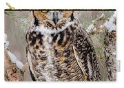 Great Horned Owl Nature Wear Carry-all Pouch