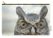 Great Horned Owl Pencil Carry-all Pouch