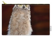 Great Horned Owlet Carry-all Pouch