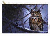 Great Horned Carry-all Pouch