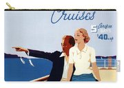 Great Lakes Cruises - Canadian Pacific - Retro Travel Poster - Vintage Poster Carry-all Pouch