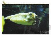 Great Longhorn Cowfish Swimming Along Underwater Carry-all Pouch