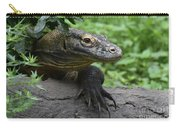Great Look At A Komodo Dragon With Long Claws Carry-all Pouch