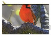 Great  Perch Male Northern Cardinal Carry-all Pouch