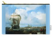 Great Roads At Kronstadt In 1836 715 H93 Ivan Konstantinovich Aivazovsky Carry-all Pouch
