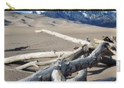 Great Sand Dunes National Park Driftwood Portrait Carry-all Pouch
