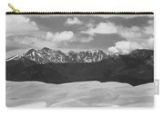 Great Sand Dunes Panorama 1 Bw Carry-all Pouch by James BO  Insogna