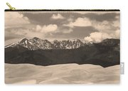 Great Sand Dunes Panorama 1 Sepia Carry-all Pouch
