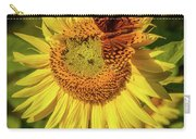 Great Spangled Fritillary On Sunflower Carry-all Pouch