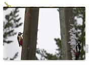 Great Spotted Woodpeckers Carry-all Pouch