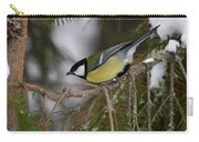 Great Tit Carry-all Pouch