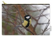 Great Tit Male Carry-all Pouch