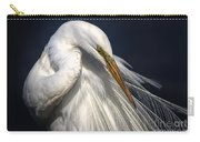 Great White Egret Print One Carry-all Pouch
