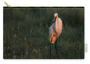 Great White Egret With Armored Catfish Carry-all Pouch