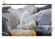 Great White Heron Of Florida Carry-all Pouch