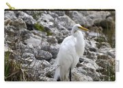 Great White Heron Race Carry-all Pouch