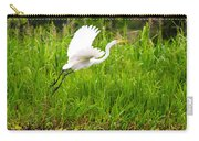 Great White Heron Takeoff Carry-all Pouch
