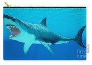 Great White Shark Underwater Carry-all Pouch